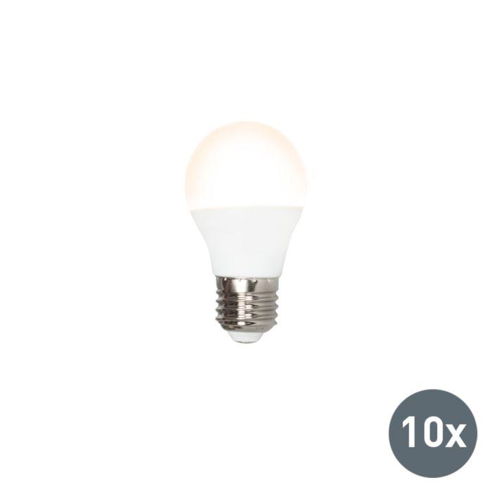 Set-van-10-LED-lamp-P45-E27-5W-3000K