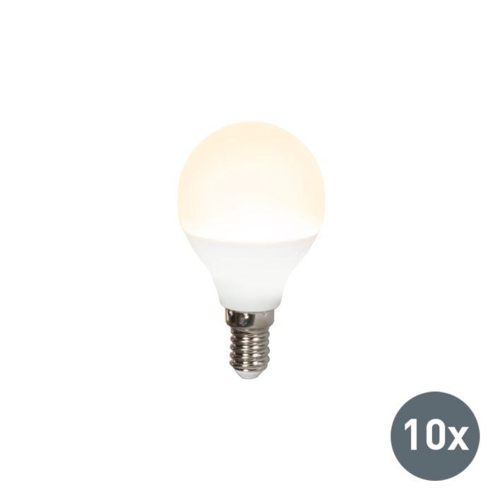 Set-van-10-LED-lamp-P45-E14-3W-3000K