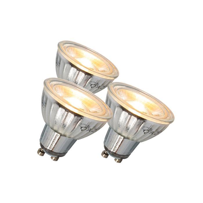 GU10-LED-lamp-7W-500LM-3000K-dimbaar-set-van-3