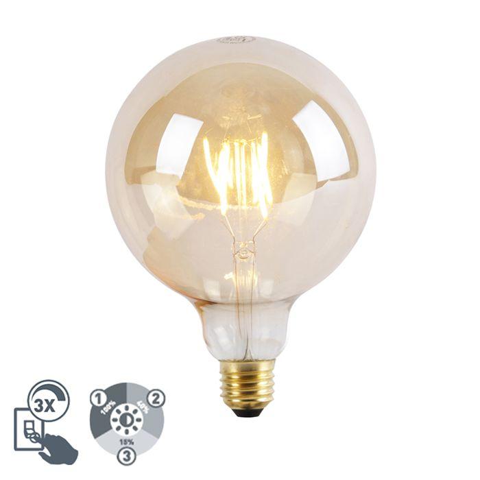 E27-dimbare-LED-lamp-G125-Goldline-3-staps-dimbaar-5W-2200K
