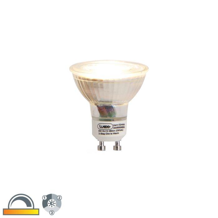 GU10-3-staps-dim-to-warm-LED-lamp-5w-380-lm-2000-2700K