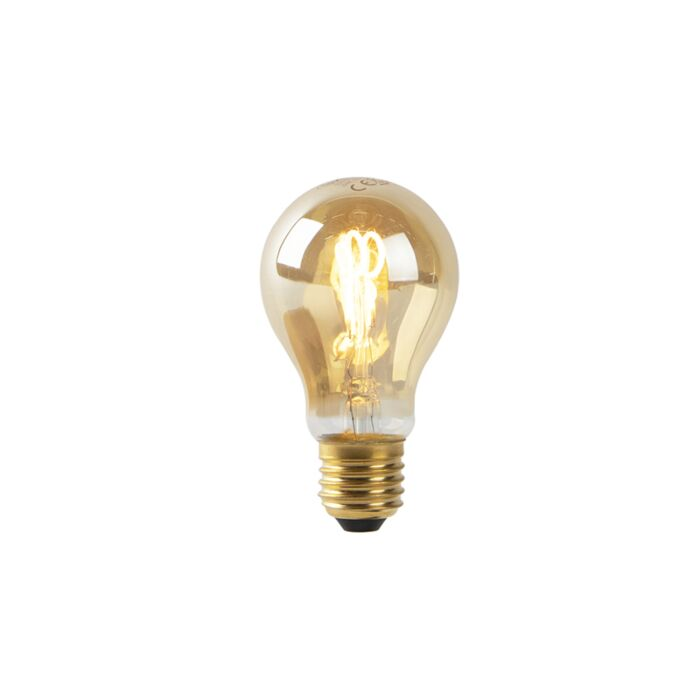E27-LED-goud-spiraal-filament-A60-2W-90-lm-2200K