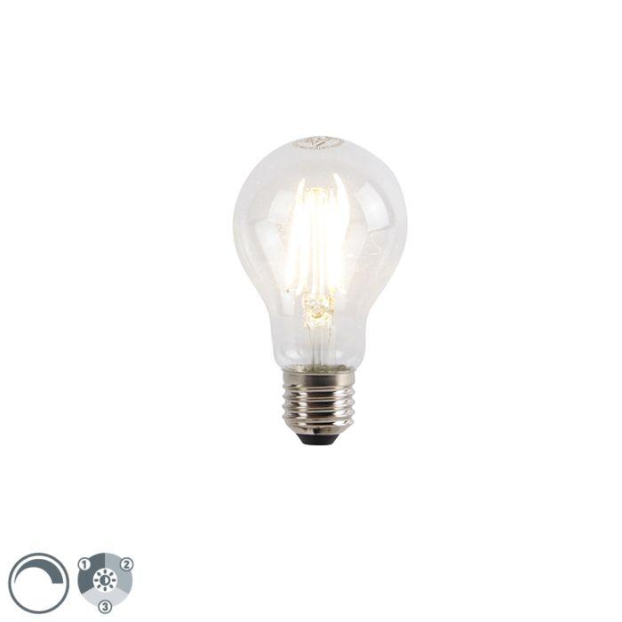 E27-3-staps-dimbare-LED-lamp-A60-5W-660-lm-2700K