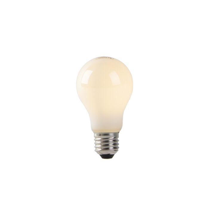 LED-lamp-A60-E27-1W-2200K-opaal-flame-filament