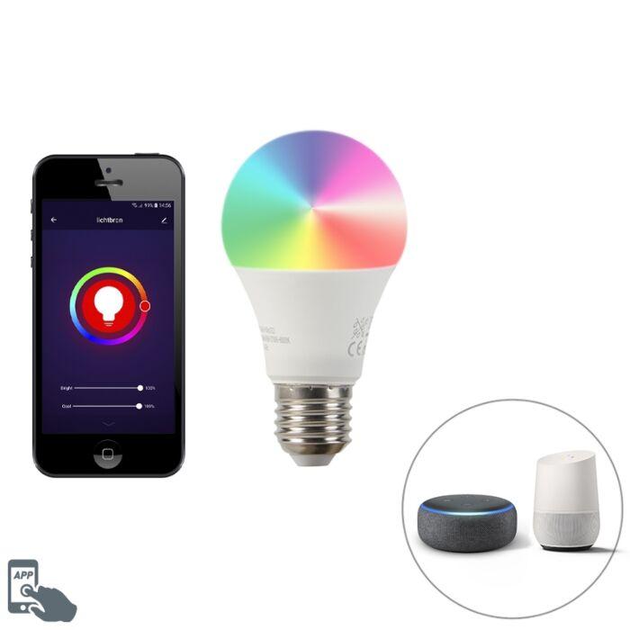 Smart-E27-dimbare-LED-lamp-A60-9W-700-lm-2200-4000K