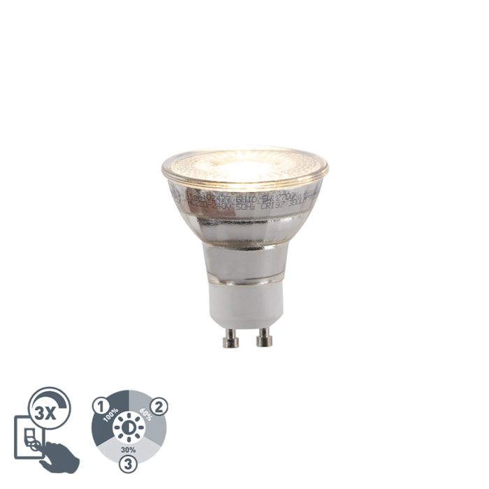 GU10-3-staps-dimbare-LED-lamp-5W-300lm