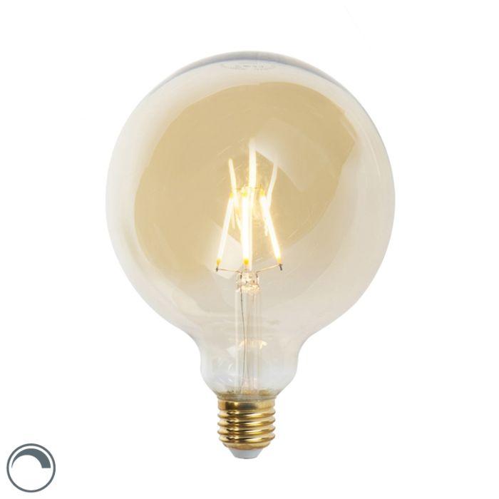 E27-dimbare-LED-filament-lamp-G125-goldline-5W-360-lm-2200K