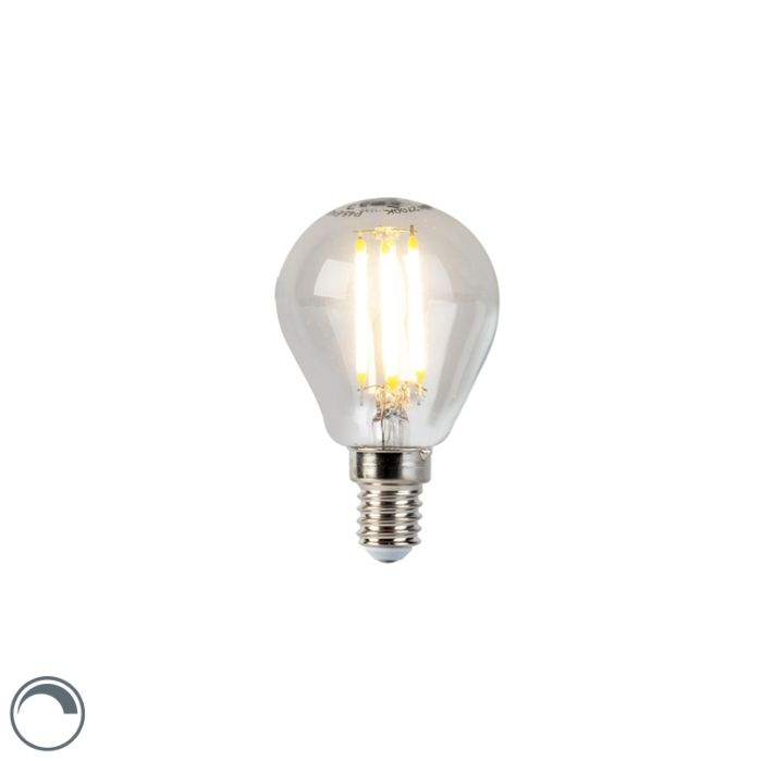 LED-filament-kogellamp-E14-5W-470lm-P45-dimbaar