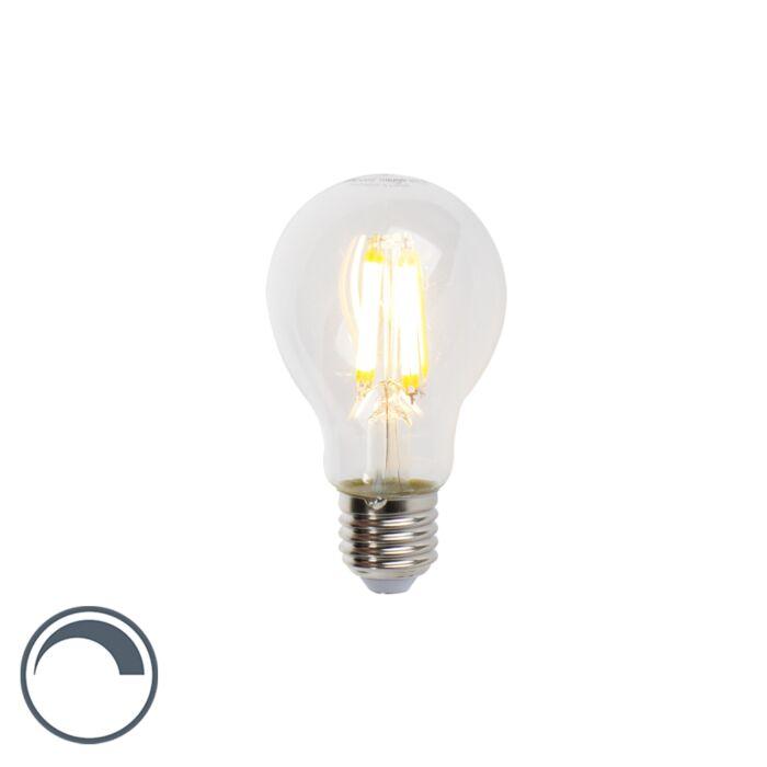 LED-filament-lamp-E27-7W-806lm-A60-dimbaar-helder
