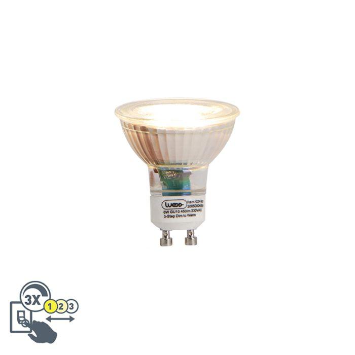 GU10-3-staps-dim-to-warm-LED-lamp-6W-450-lm
