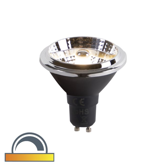 LED-lamp-AR70-GU10-6W-2000K-3000K-dim-to-warm