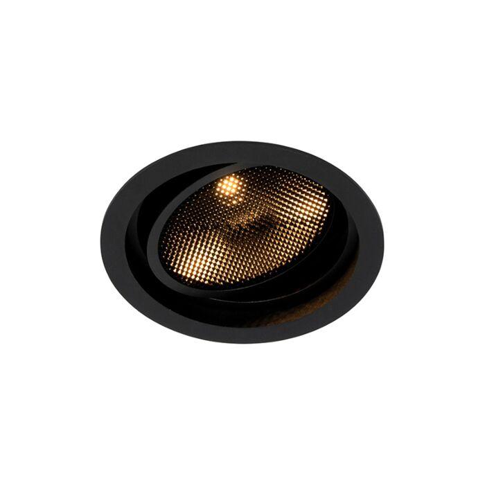 Moderne-inbouwspot-zwart-verstelbaar---Coop-111-Honey