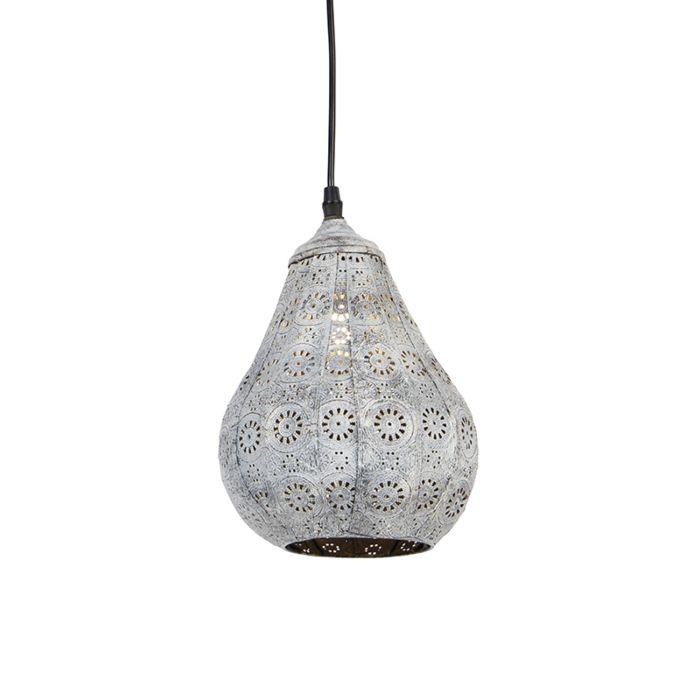 Oosterse-hanglamp-grijs---Billa-Dia