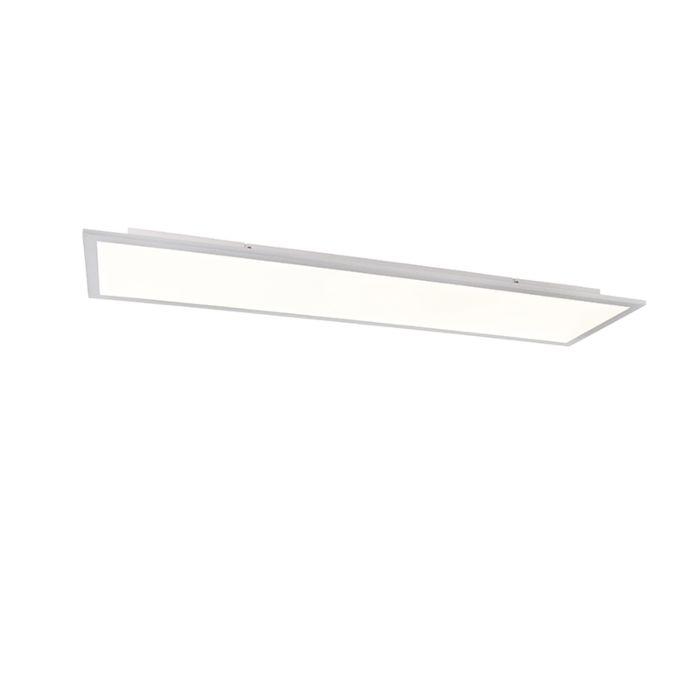Plafondlamp-wit-120-cm-incl.-LED-met-afstandsbediening---Liv