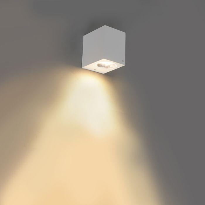 Moderne-wandlamp-wit-van-kunststof---Baleno-I
