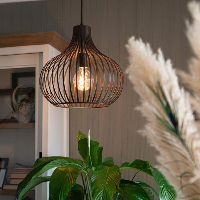 Hanglamp-bruin-38-cm---Frances