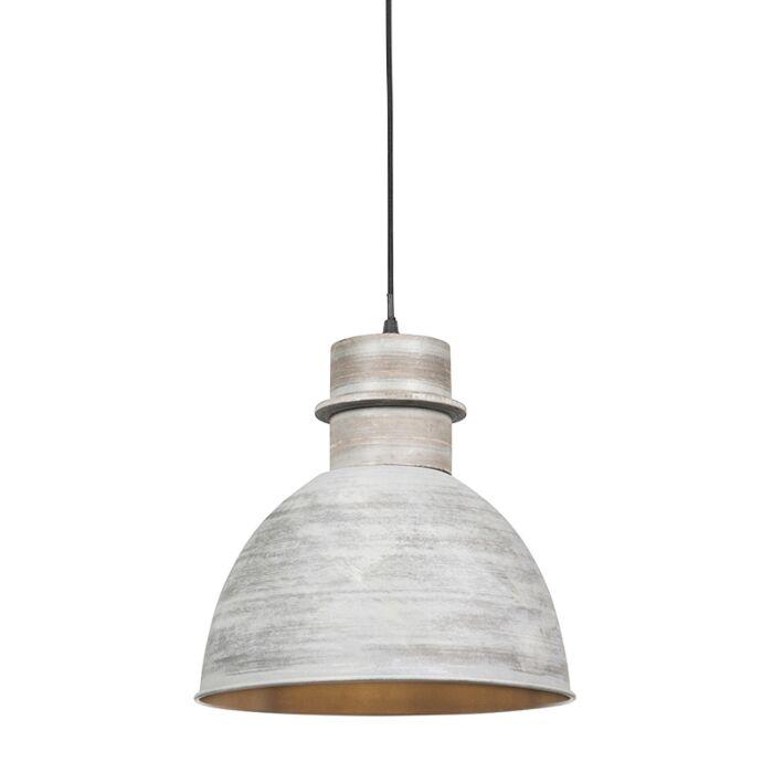 Smart-hanglamp-grijs-30-cm-incl.-wifi-A60-lichtbron---Dory
