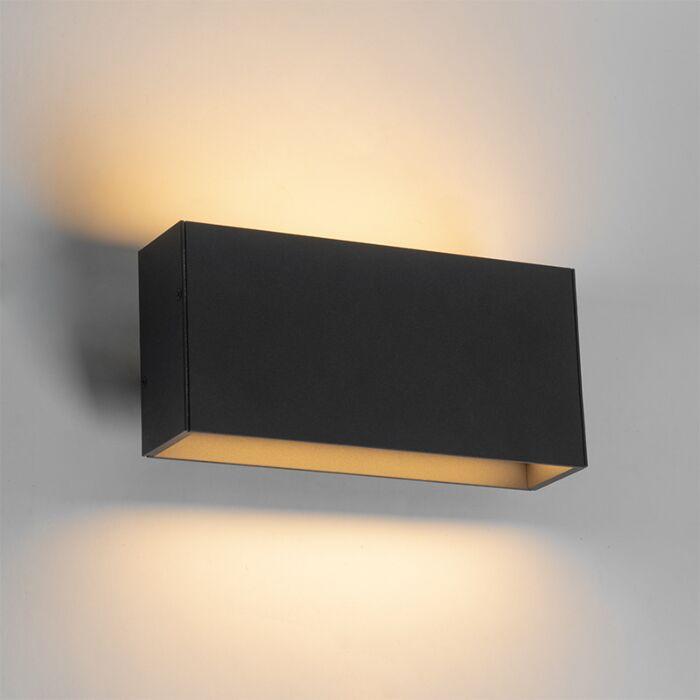 Moderne-wandlamp-antraciet-incl.-LED-IP54---Spector