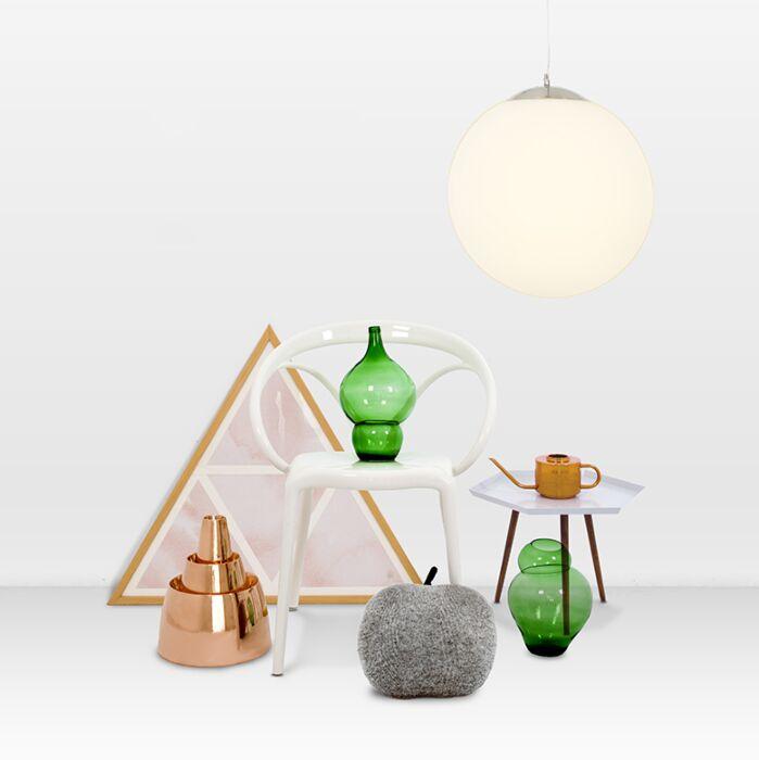 Moderne-hanglamp-glas-40cm---Ball