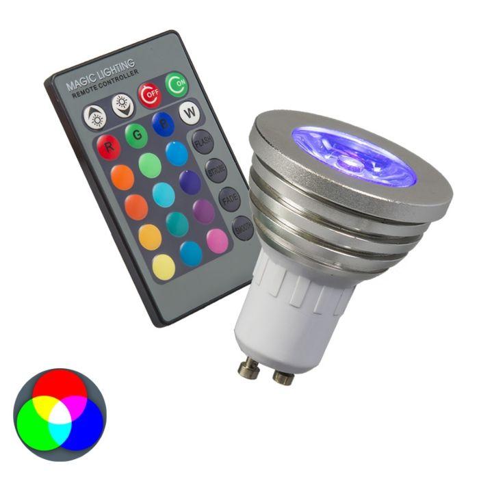 RGB-GU10-lamp-met-afstandsbediening