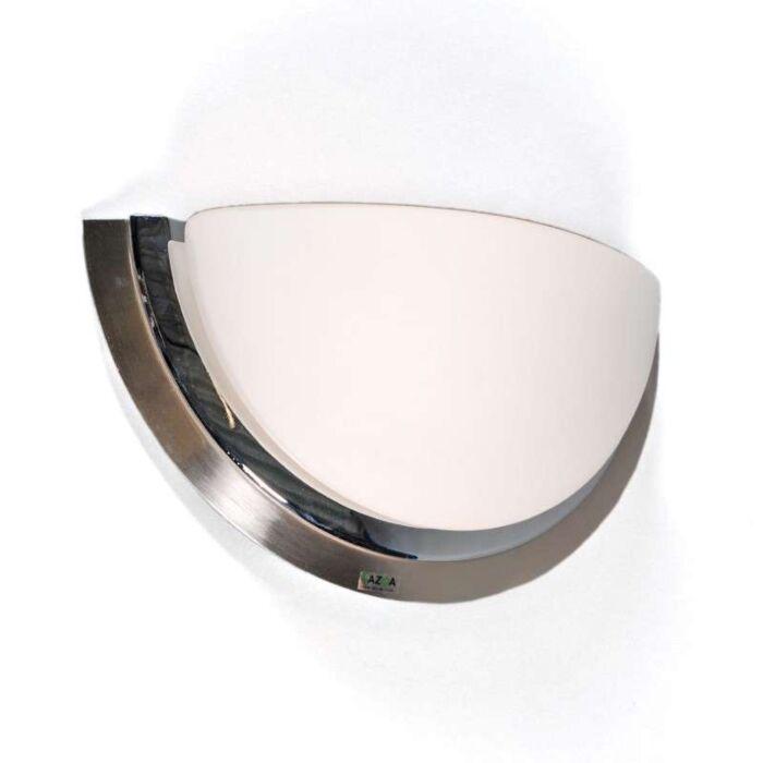 Wandlamp-Barney-staal-chroom