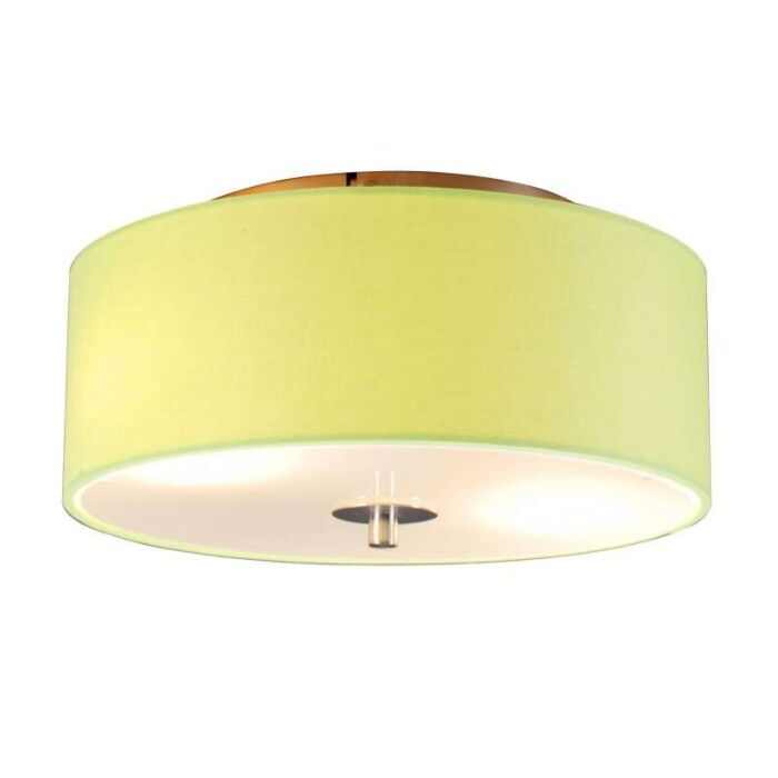 Plafonniere-Drum-30-rond-lime