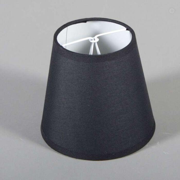 Klemkap-ø15cm-zwart