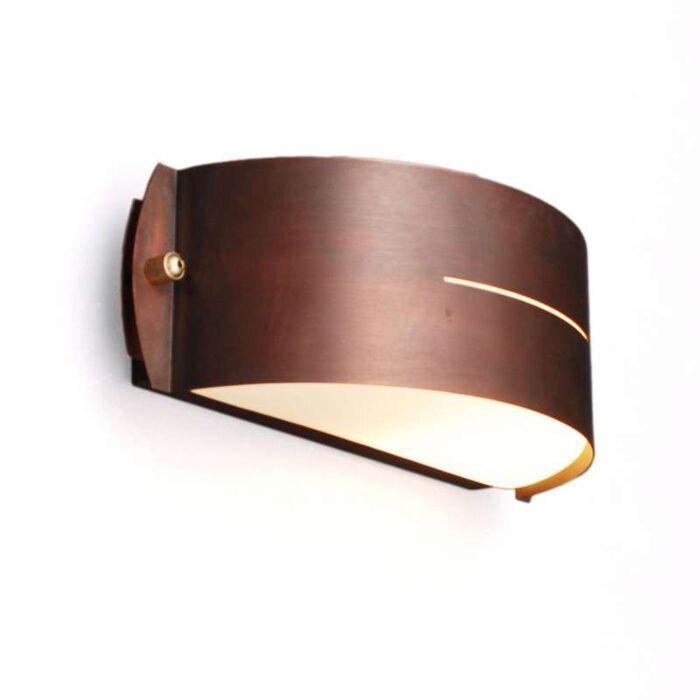 Buitenlamp-Celine-wand-Round-koper