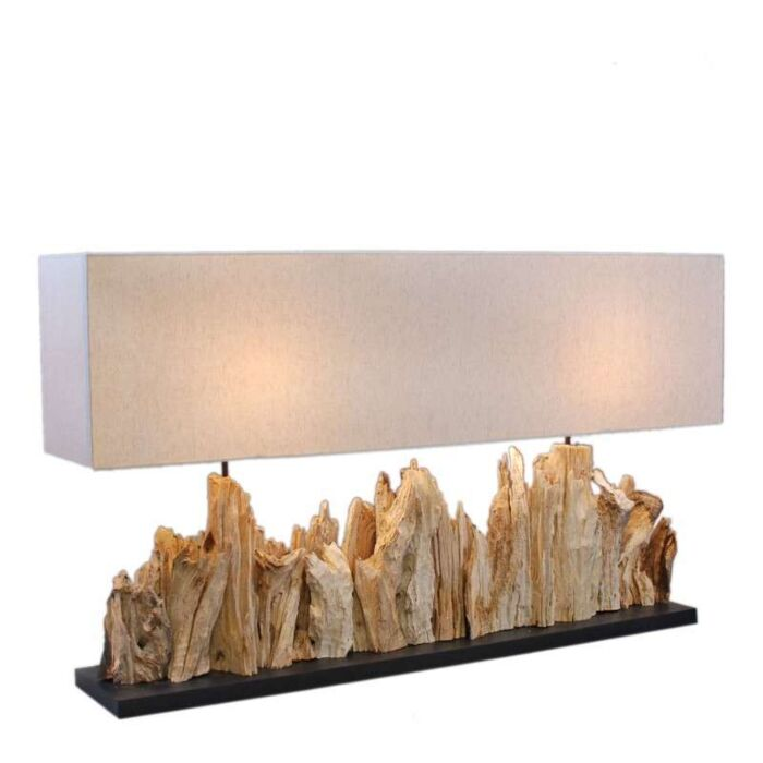 Tafellamp-Thak-Extra-Grande-(115cm!!)-met-linnen-kap