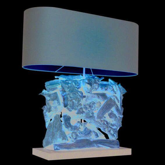 Tafellamp-Raman-Recta-naturel-met-bruine-kap