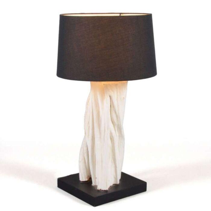 Tafellamp-Arich-met-kap-zwart