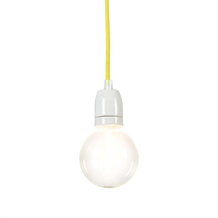 Hanglamp-Cavo-geel