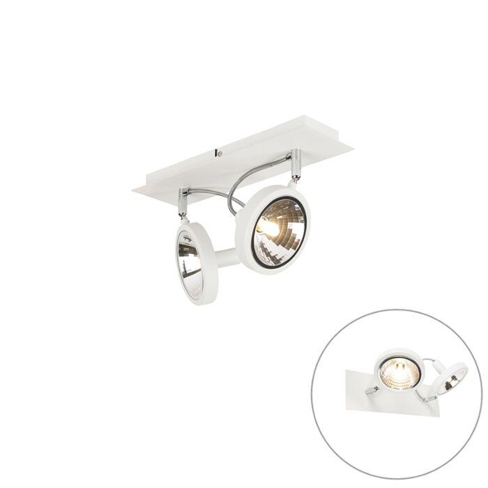 Design-spot-wit-2-lichts-verstelbaar---Nox