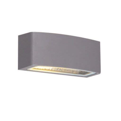 Modern-buitenwandlamp-grafiet-14,3-cm-IP44---Latina