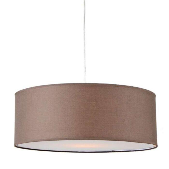Hanglamp-Tamburo-50cm-bruin
