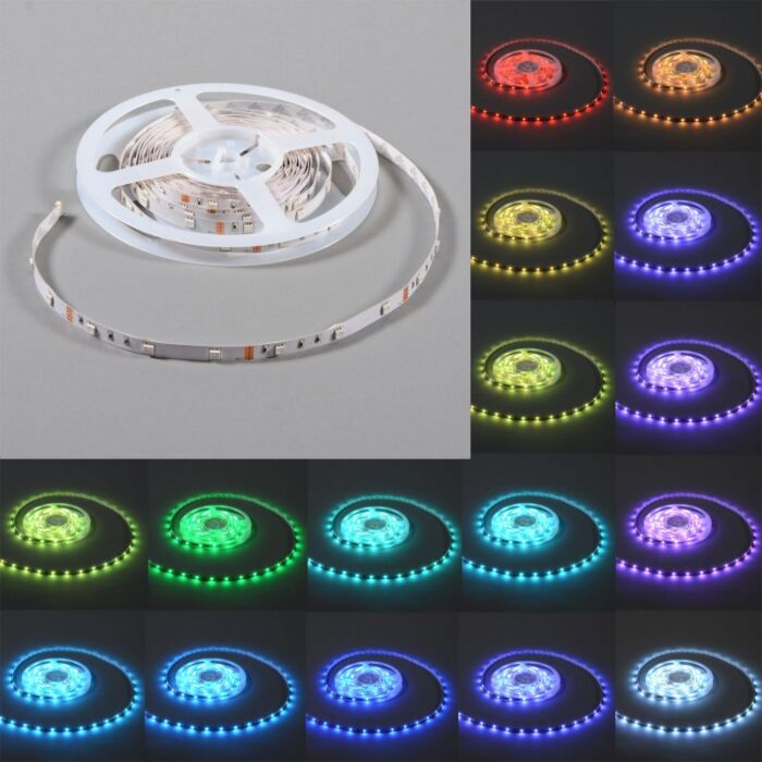 Flexibele-RGB-LED-strip-IP20-5mtr-op-rol