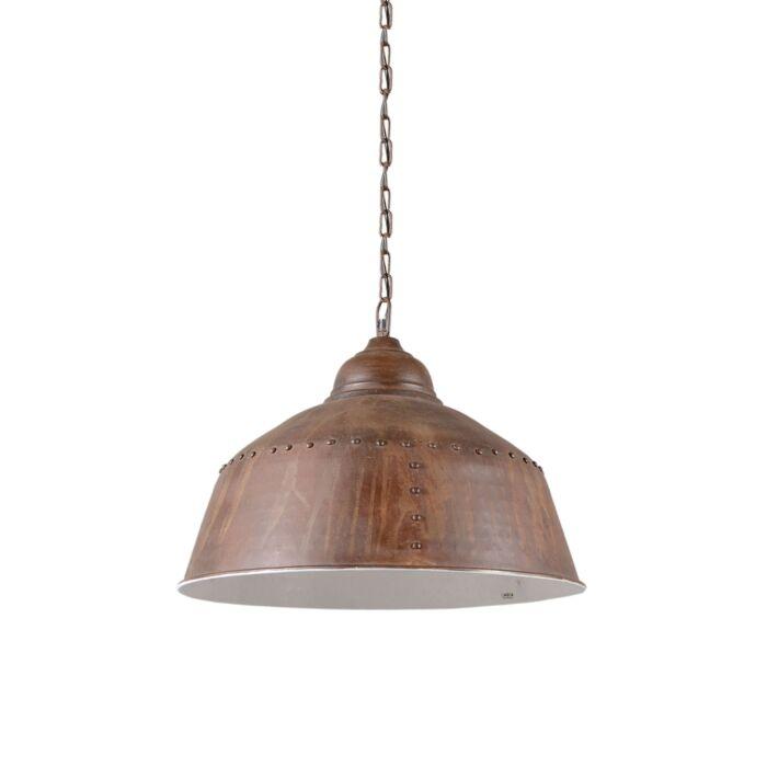 Hanglamp-Barun-verweerd-roest