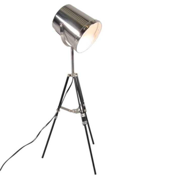 Tafellamp-Benna-tripod-zwart-chroom
