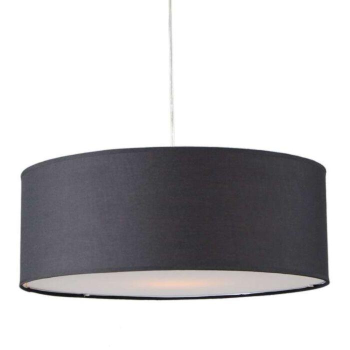 Hanglamp-Tamburo-50cm-zwart