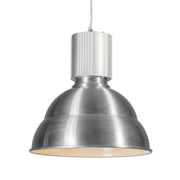 Hanglamp-Industrie-Aluminium-geborsteld