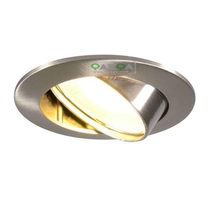 Inbouwspot-Edu-LED-staal