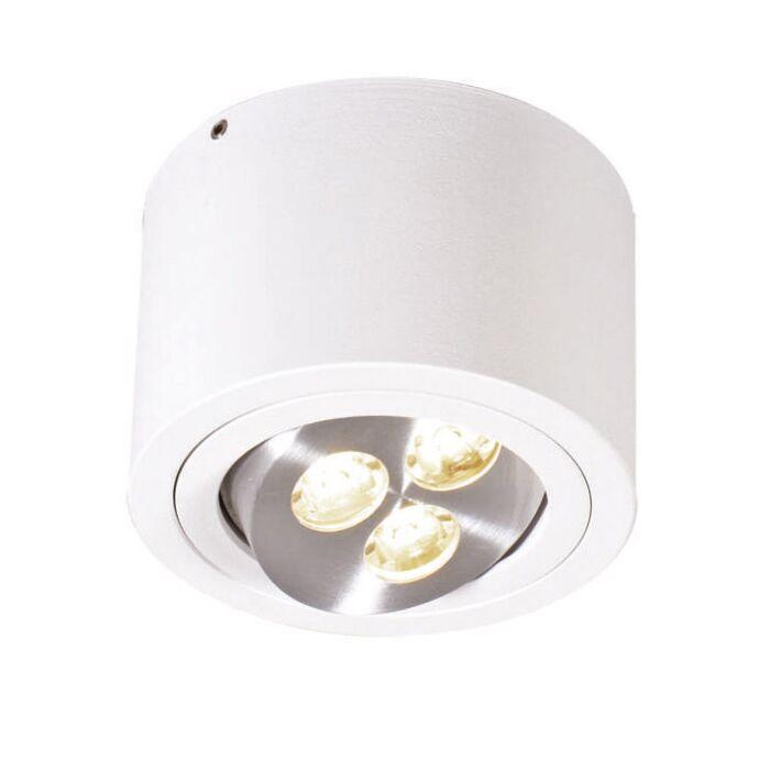 Plafonniere-Keoni-wit-LED