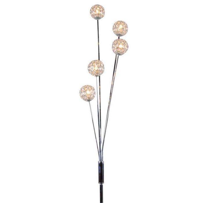 Vloerlamp-Sfera-5-chroom