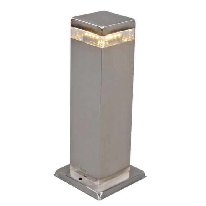 Buitenlamp-Satin-Square-30cm-staal-met-LED