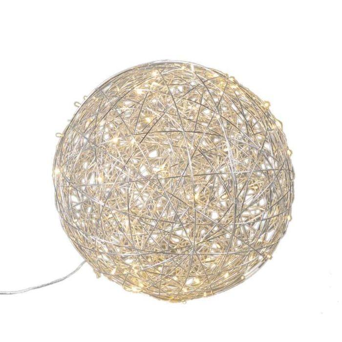 Vloerlamp-Draht-bol-60cm-LED-aluminium