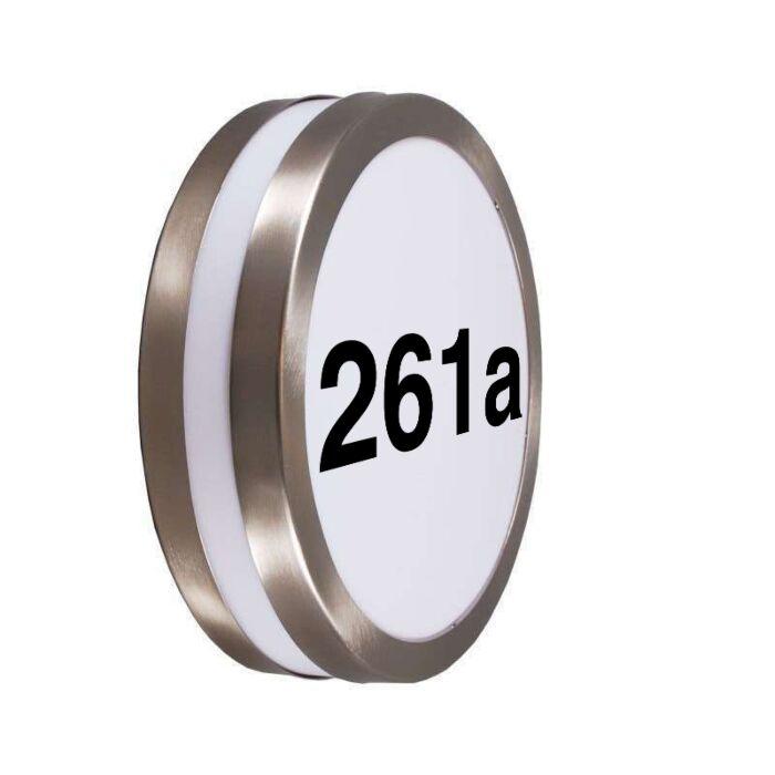 Buitenwandlamp-RVS-met-huisnummer-IP44---Leeds