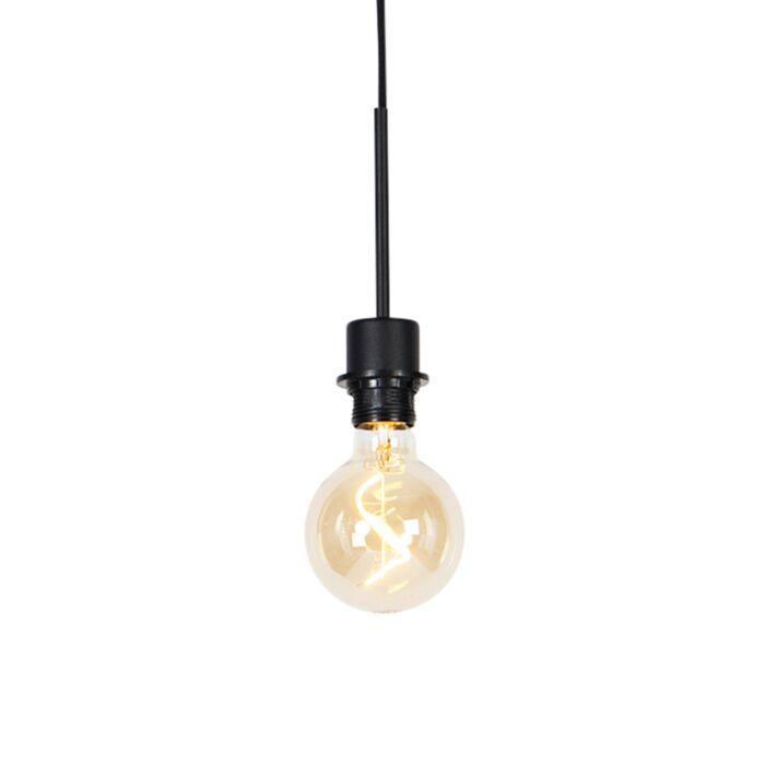 Moderne-hanglamp-zwart-zonder-kap---Combi-1