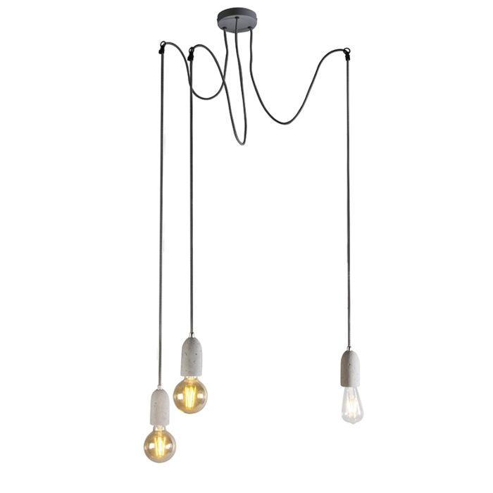 Industriële-hanglamp-grijs-beton---Cava-3