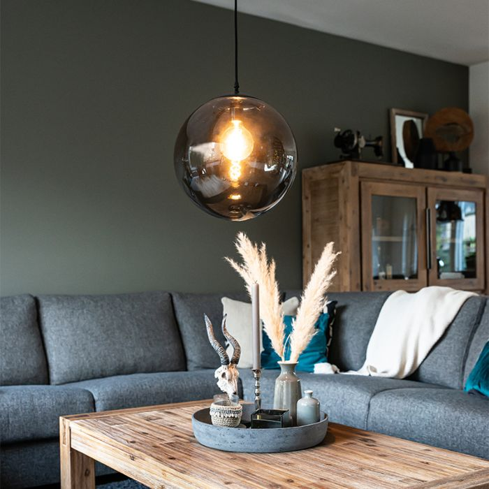 Art-Deco-hanglamp-grijs-35-cm---Pallon