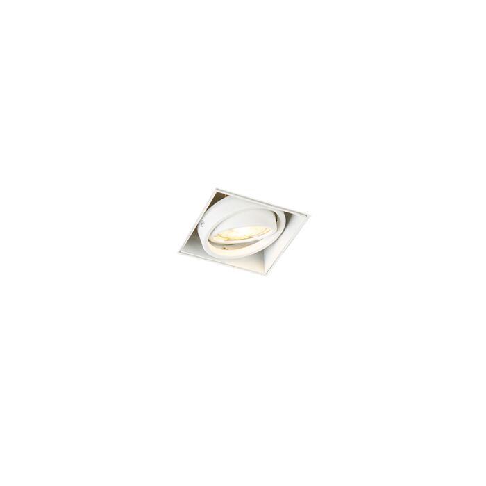 Inbouwspot-wit-GU10-draai--en-kantelbaar-trimless---Oneon